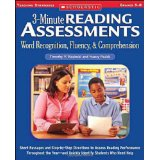 3-Minute Reading Assessments, Grades 5-8 ~ Rasinski & Padak