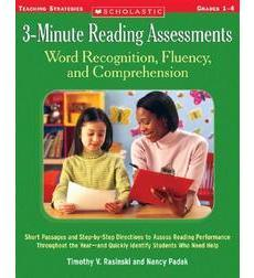 3-Minute Reading Assessments (1-4)