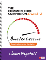 Common Core Companion: Booster Lessons, Grades K-2