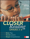 Closer Reading, Grades 3-6 ~ Nancy Boyles