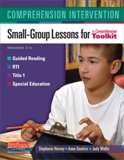 Comprehension Intervention: Small-Group Lessons/3-6 CTK