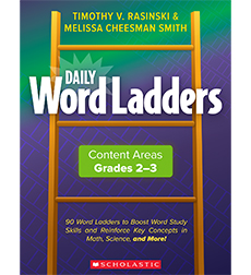 Daily Word Ladders Content Areas Grades 2-3