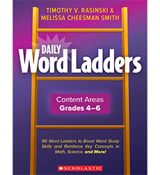 Daily Word Ladders Content Areas Grades 4-6