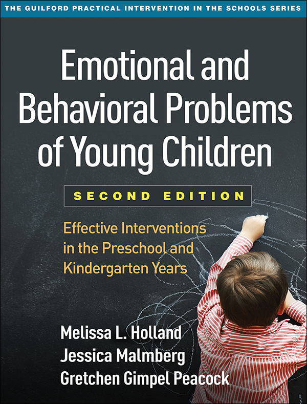 Emotional and Behavioral Problems of Young Children, 2ndEd
