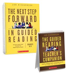 Next Step Forward in Guided Reading ~ Jan Richardson