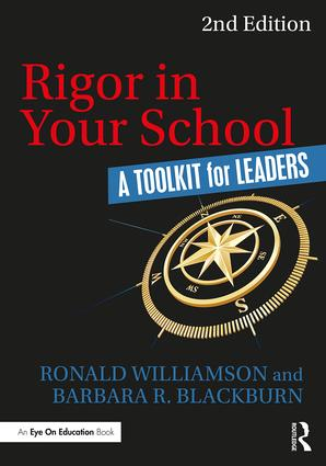Rigor in Your School: A Toolkit for School Leaders ~ Williamson