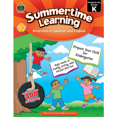 Summertime Learning (Directions in Spanish/English)