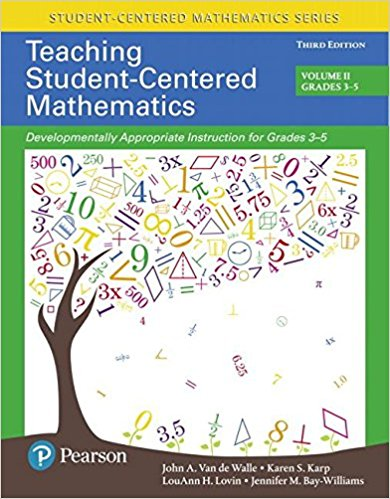 Teaching Student Centered Math, 3rd Ed ~ Van de Walle