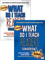 What Do I Teach Readers Tomorrow?